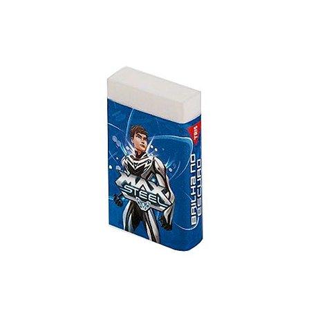 Borracha Max Steel Azul