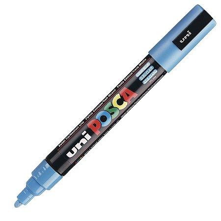 Caneta Posca - PC-5M - Azul Claro