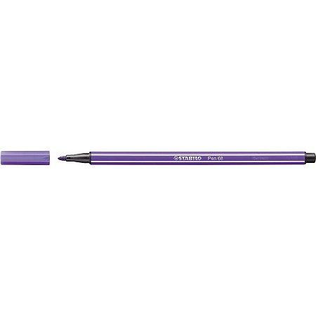 Caneta Stabilo Point 68/55 - Violet