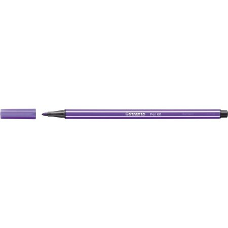 Caneta Stabilo Pen 68/55 - Violet