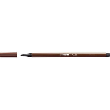 Caneta Stabilo Point 68/45 - Brown