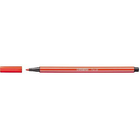 Caneta Stabilo Point 68/40- Light Red