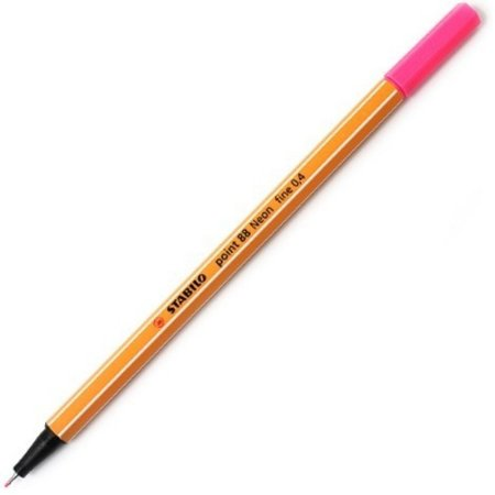 Caneta Stabilo Point 88/56 - Neon Pink