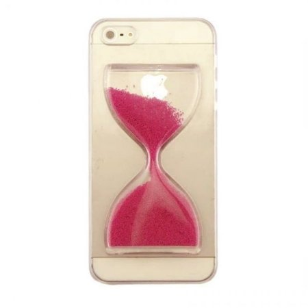 Capa Case Ampulheta Rosa - Iphone 6/6S