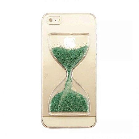 Capa Case Ampulheta Verde - Iphone 6/6S