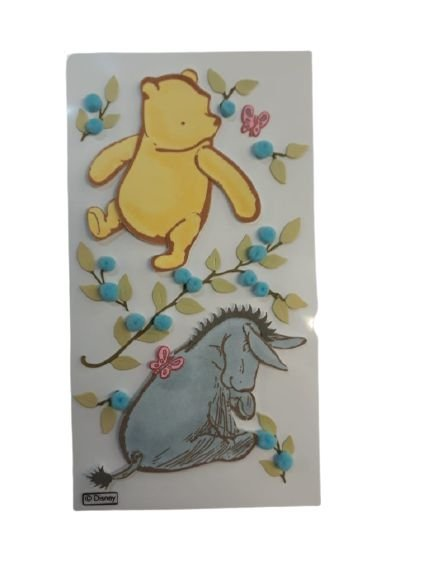 Adesivo Disney Ursinho Pooh e Eeyore