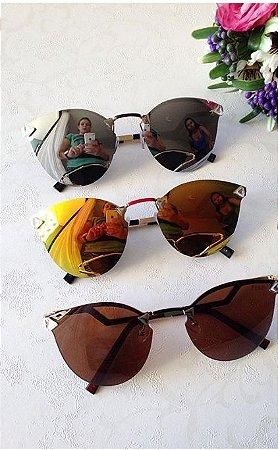 Óculos Oval Várias Cores