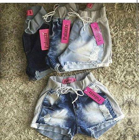 Short Jeans Moletom