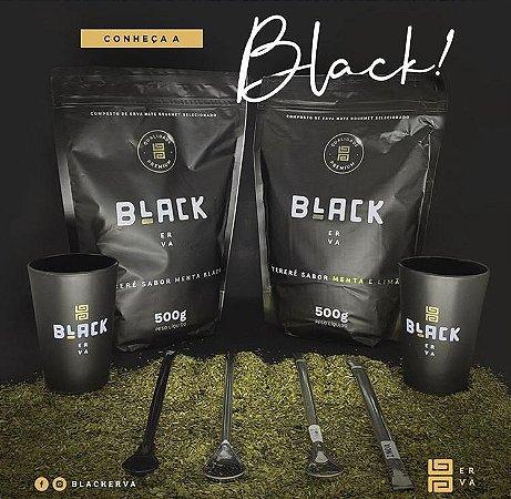 Erva Mate Para Terere Black Erva Premium 500g