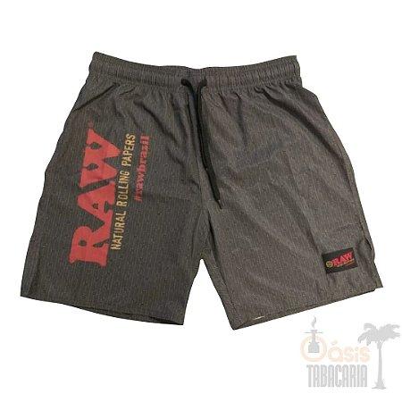 Short RAW Masculino Cinza
