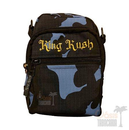 Shoulder Bag King Kush Azul Camuflado