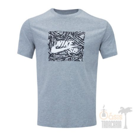 Camiseta Nike SB Dry Tee Triangl Cinza