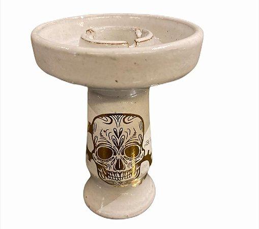 Beta Bowl Skull branco Grande