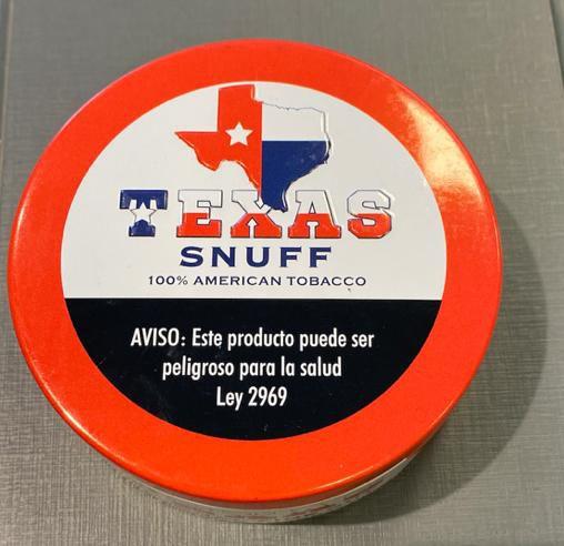 Fumo de mascar Texas Snuff