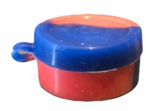 Oil Slick NS 10ml Tampa Presa e c/ Divisória Vermelho e Azul