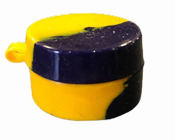 Oil Slick NS 7ml c/ Tampa Junta Amarelo e Azul