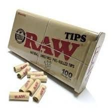 Piteira RAW Pre-Rolled 100 Tips