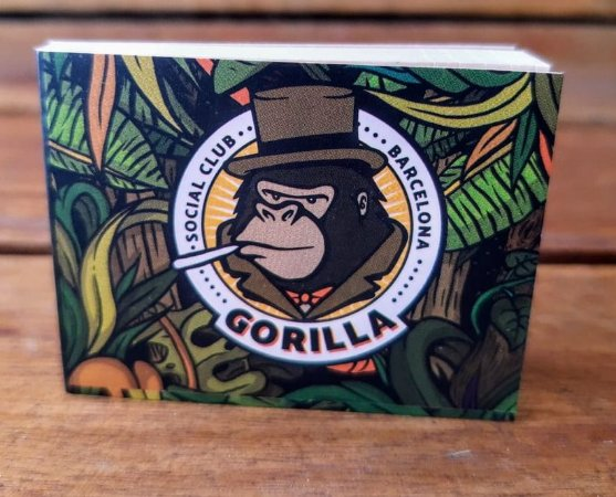 Piteira de Papel Extra Longa A Piteira Gorilla