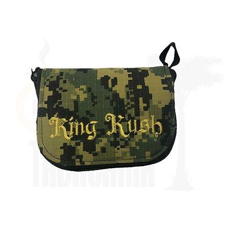 Case King Kush Slim Camuflado Verde