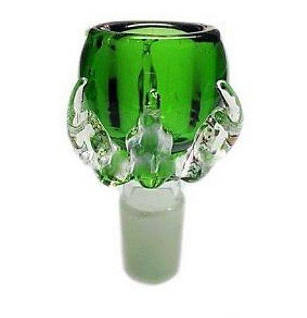 Bowl de Vidro Dragon Claw Verde 14mm