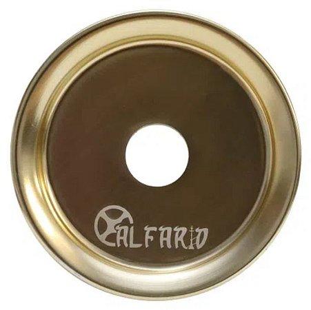 Prato Al Farid Pequeno Bronze