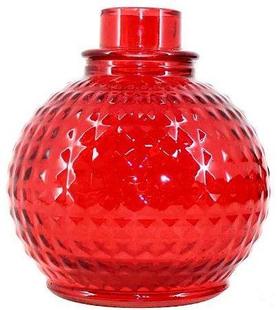 Vaso Ruby Tracidional Vermelho