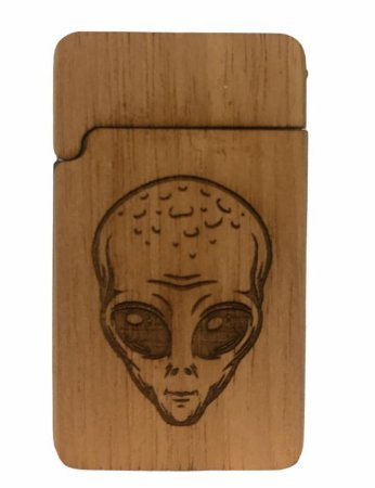 Wood Burning Porta Bic Alien