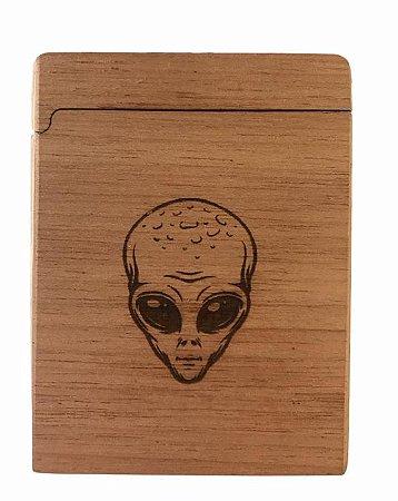 Wood Burning Cigarreira Alien
