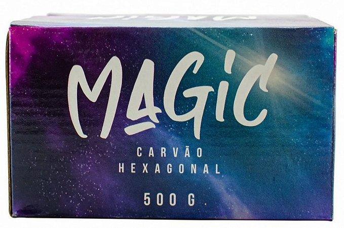 Carvão Hexagonal Magic 500g