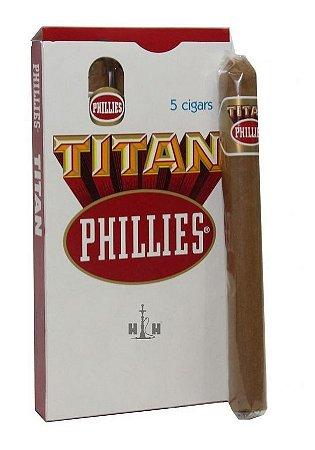 Charuto Titan Phillies Tradicional