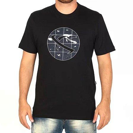 Camiseta LOST! Space Saturn Preta