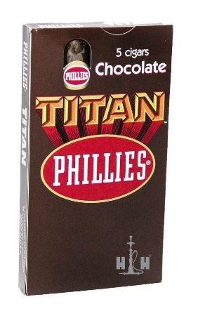 Charuto Titan Phillies Chocolate