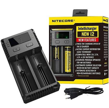 Carregador IntelliCharger Nitecore i2