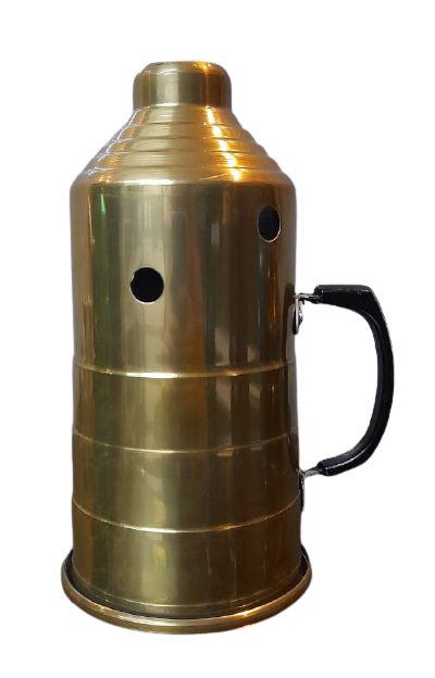 Abafador Metálico Dourado