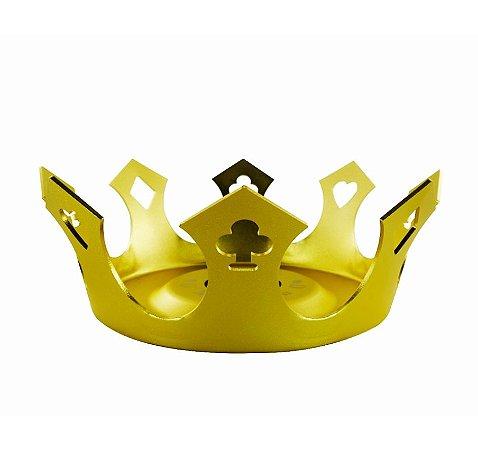 Prato Zenith Royal Flush Dourado