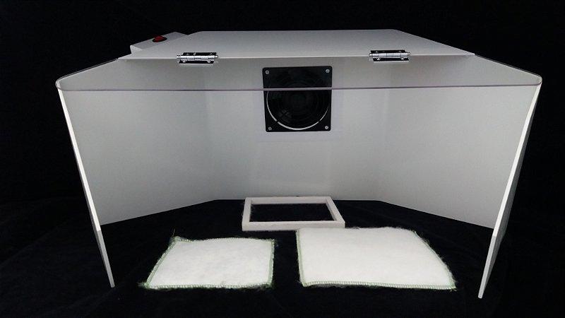 Camara Exaustora p/Pesagens - Novo sistema de exaustao