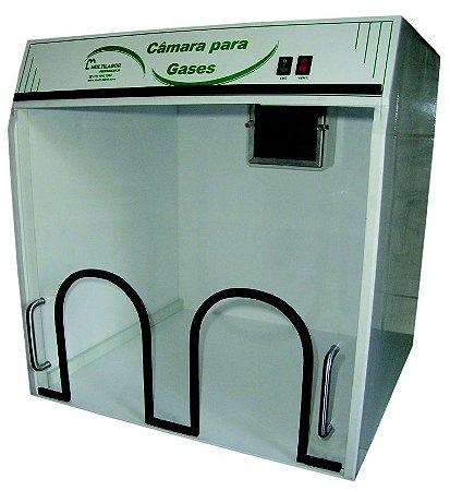 Camara Exaustora p/ Gases c/saída interna e externa