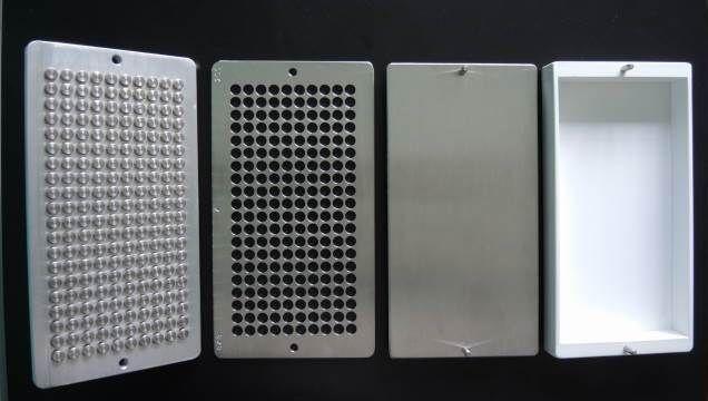 Tableteiro Humano em Aço inox - com SOCADOR/EJETOR