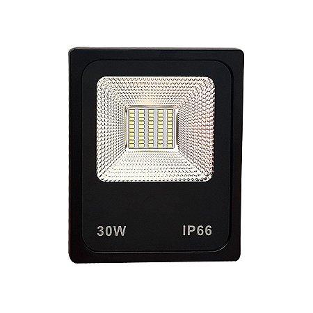REFLETOR MICROLED SMD SLIM 30W VERDE
