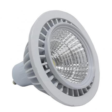 LÂMPADA LED AR70 GU10 7W BRANCO FRIO COB