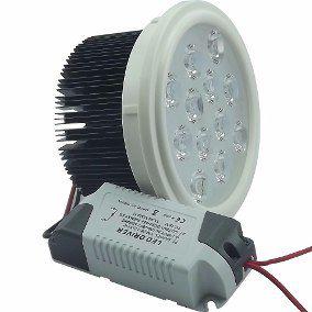 LÂMPADA LED AR111 12W BRANCO FRIO COM DRIVER