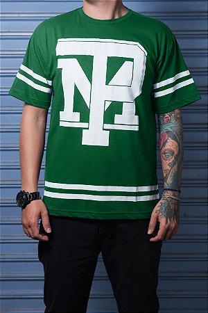 Camiseta com Listra Verde