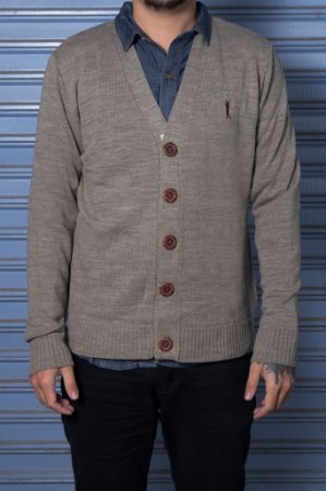 "Cardigan ""Royal"" Marrom"