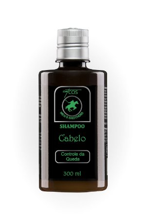 Shampoo Controle de Queda para Cabelo 300ml   Catcos