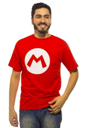 Camiseta Mario Símbolo