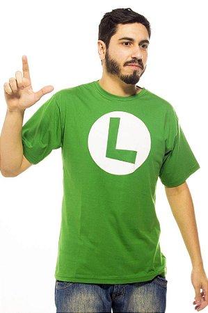 cadaebaabbea0 Camiseta Luigi Símbolo - Primata Moderno
