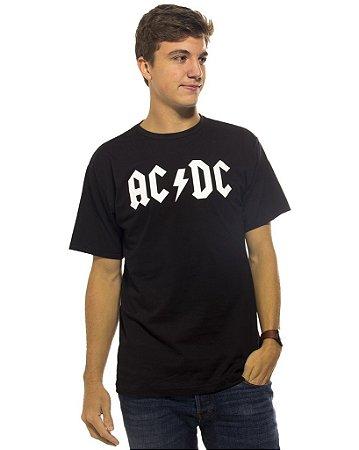 Camiseta Preta ACDC