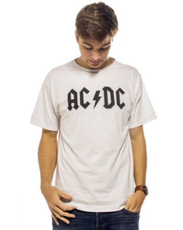 Camiseta Branca ACDC
