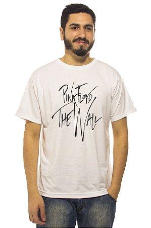Camiseta Branca Pink Floyd