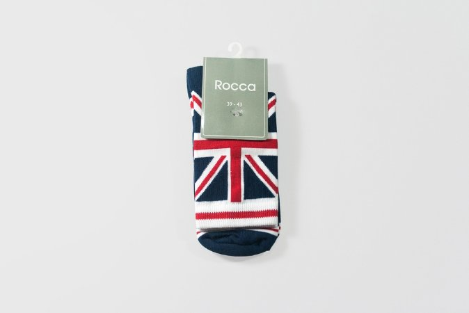 Meia Estampada ''United Kingdom''
